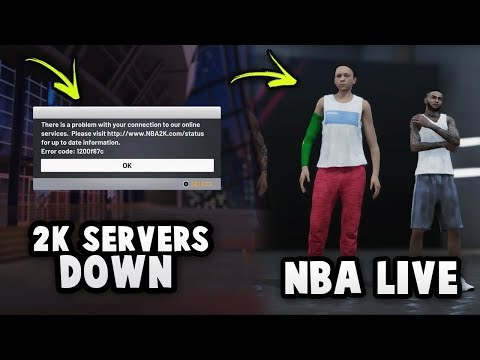 The NBA 2K19 MyTEAM Servers Are DOWN So We Play NBA LIVE 19