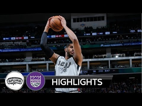 |HD| San Antonio Spurs vs Sacramento Kings - Highlights / NBA / 23 December 2017