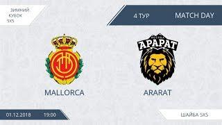Mallorca 3:7 Ararat, 4 тур