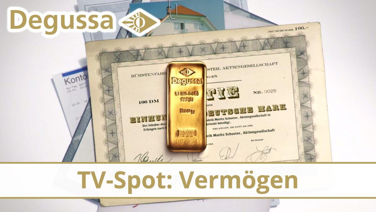 Degussa TV-Spot Sommer 2014: Versichern Sie Ihr Vermögen!