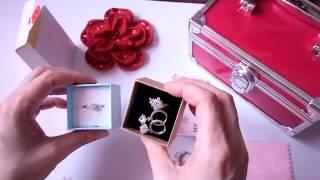 VLOG Алиэкспресс Кольцо с фианитом Пополнение коллекции