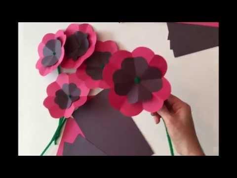 DIY Paper Poppy