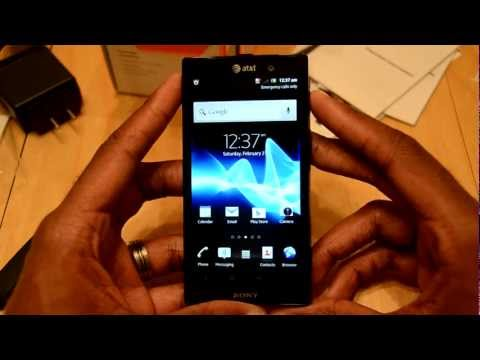 Sony Xperia Ion 4G LTE (AT&T) Unboxing