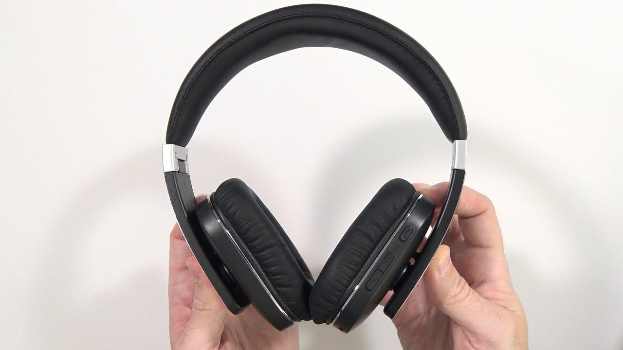 best over ear bluetooth headphones archeer ah07 unboxing. Black Bedroom Furniture Sets. Home Design Ideas