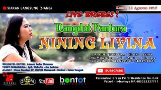 Live! Nining Livina || Edisi Siang  Wanasari - Brebes 15 Agustus 2019  - Bontot