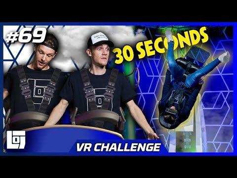 OVER DE KOP IN VR STOEL met Enzo en Milan   VR CHALLENGE   LOGS2 #69