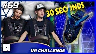 OVER DE KOP IN VR STOEL met Enzo en Milan   VR-WEEK   LOGS2 #69
