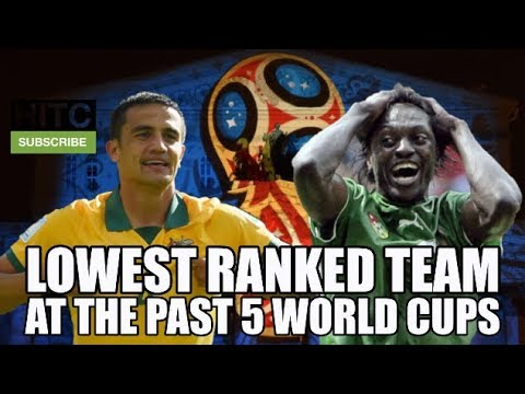 The Lowest Ranked Team At The Past 5 World Cups: How Did They Perform?
