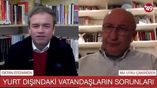 Çakırözer yurt dışındaki Türklerin sorunlarını dinledi
