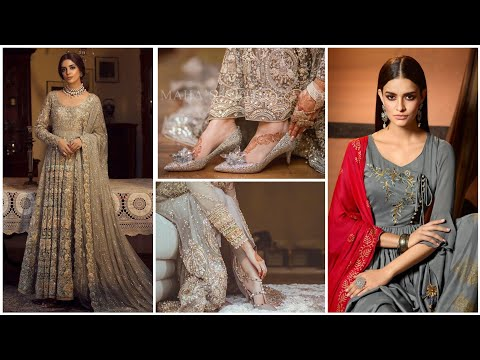 contrast-colour-dupatta-with-gray-suits/elegant-idea's-of-colour-contrast-with-gray