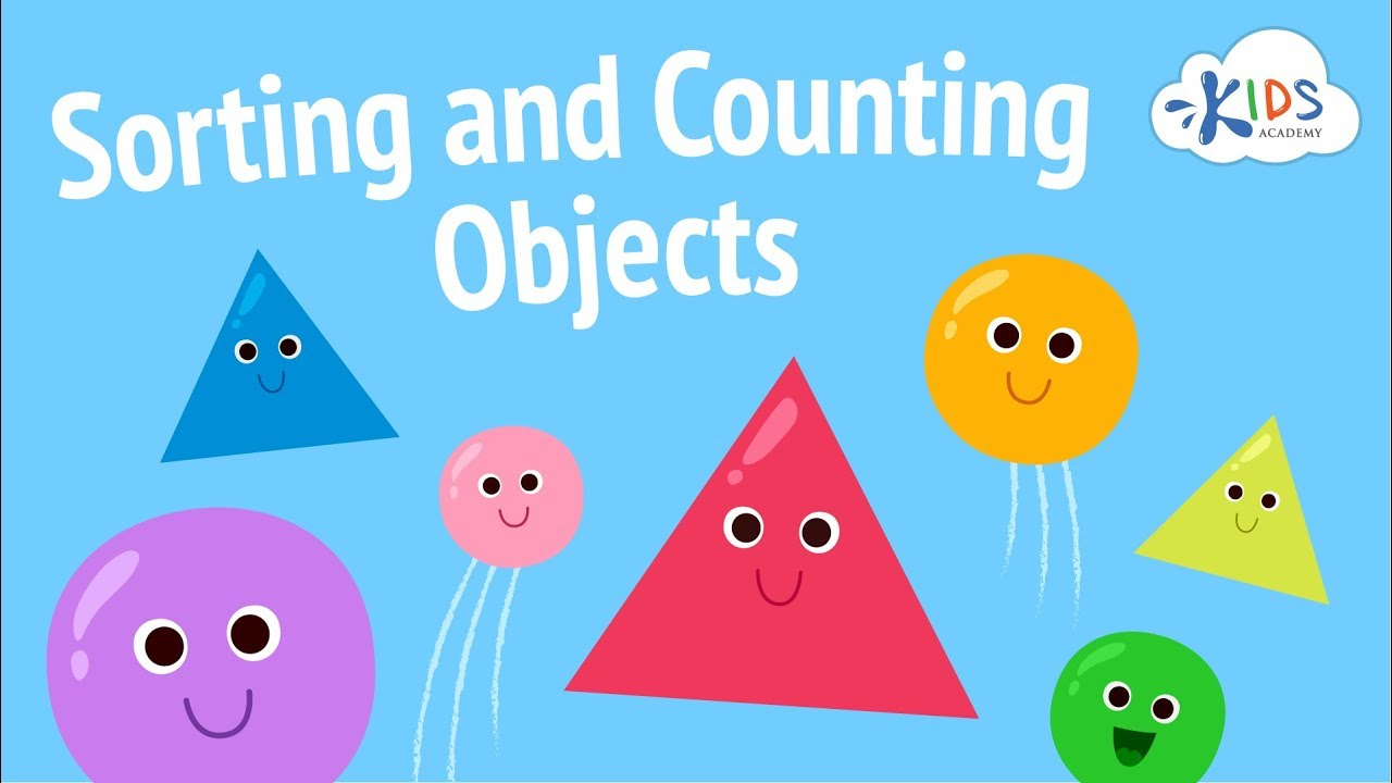 medium resolution of Sorting Objects and Counting for Kids   Sorting Games for Preschool \u0026  Kindergarten   Kids Academy - YouTube