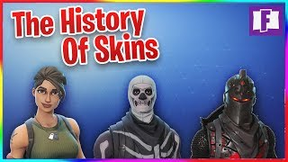 THE HISTORY OF FORTNITE SKINS!