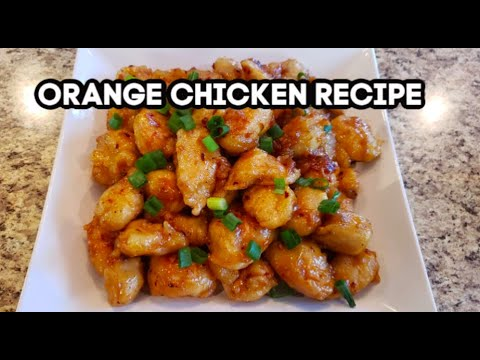 Orange Chicken Recipe How To Make Orange Chicken Urdu Hindi Youtube