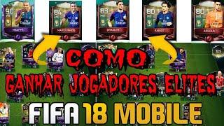 GANHAR JOGADORES ELITES DE GRAÇA NO FIFA MOBILE 18 / ANDROID & iOS /