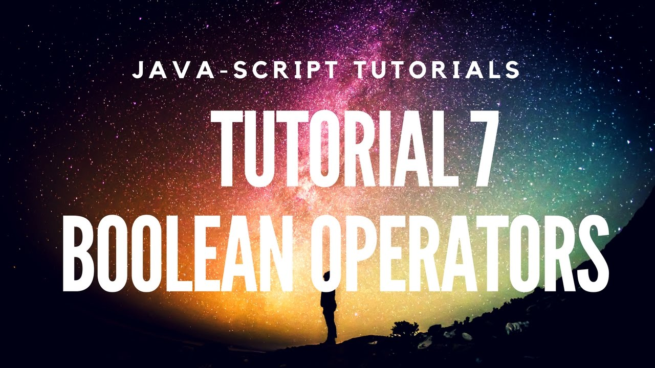 Learn javascript tutorial 7 about boolean expressions youtube learn javascript tutorial 7 about boolean expressions baditri Choice Image