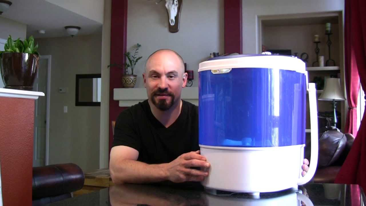 Ezywash Portable Washing Machine By Base Camp   YouTube