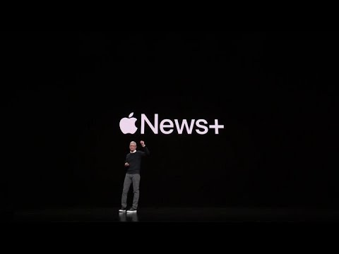 St. Pierre - Apple Unveils New Service 'News+'
