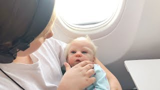Reborn Baby Dolls First Airplane Ride Going to Great Grandmas House