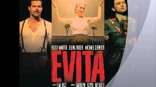EVITA BROADWAY 2012: HIGH FLYING ADORED (RICKY MARTIN Y ELENA ROGER)