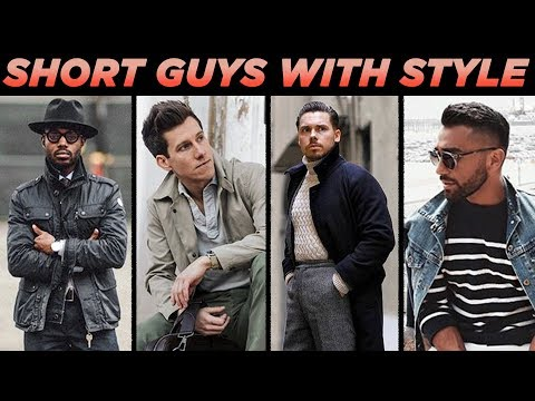 5 SHORT Guys with MORE Style Than Tall Men 😱 | Short Men's Fashion Inspiration | StyleOnDeck