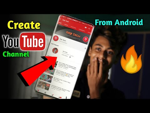 How To Create YouTube Channel From Android Mobile 🔥 How To Earn | Full Details | Debjit07