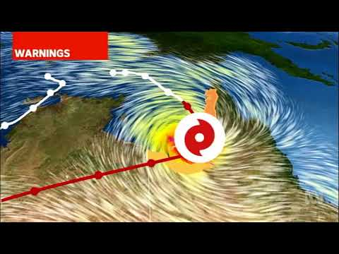 Gulf Country communities lock down as CAT 3 TC Nora slams into Qld