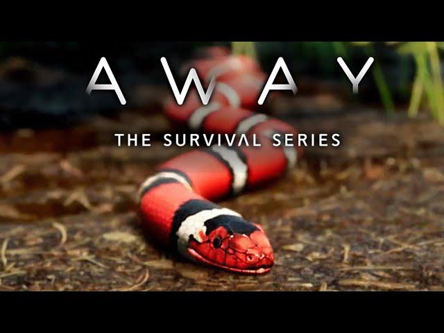 AWAY: The Survival Series 🐿️ Fressen oder gefressen werden #02 [Lets Play   Gameplay Deutsch]