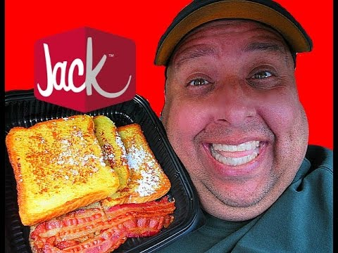 Jack In The Box® Grilled French Toast Plate Review!