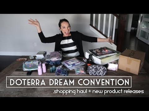 doTERRA Dream Convention 2018 Shopping Haul- New Oils, DIY Supplies, Oil Books and more!