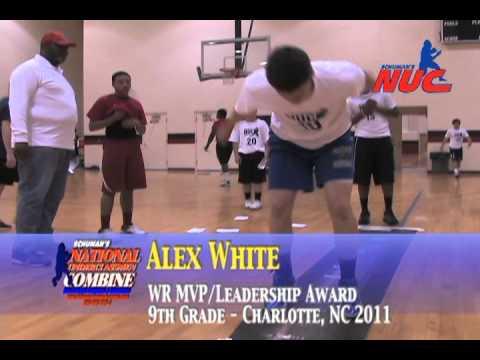 National Underclassmen - Charlotte, NC 2011 - MVP Awards/Top Test Scores - 8th-9th Grade