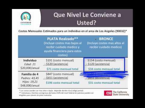 Spanish Webinar on Health Insurance Options