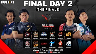 [2021] Free Fire Master League Season III Divisi 1 - Final Day 2