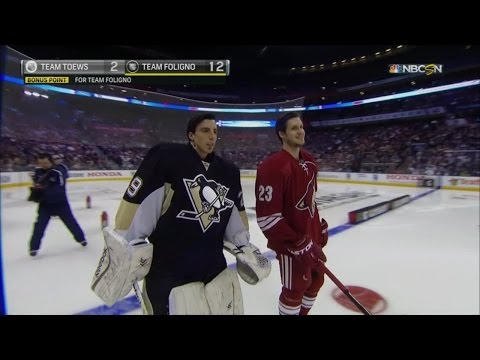 Marc-Andre Fleury 2015 Skills Competition Highlights