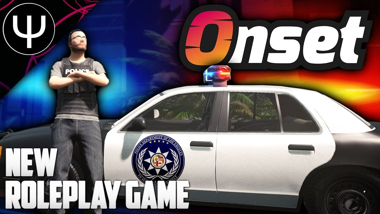 The NEW BEST Roleplay Game?! — Onset