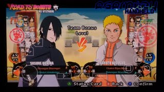 [PSP] PPSSPP Naruto Shippuden Ultimate Ninja Strom 4 Road to Boruto Android + Download Iso