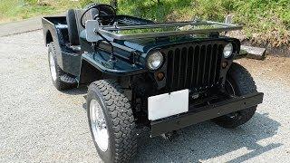 MITSUBISHI Jeep(J57,willys MBversion) '1981