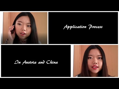 Applying jobs in Austria and China