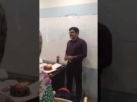 Dushyant Sir Birthday celebration (Don of Chemistry).