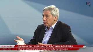 """Toplum ve Siyaset (16):  Şevket Pamuk ile """"Osmanlı'dan Cumhuriyet'e iktisadi dönüşüm"""""""