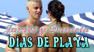 James Rodriguez y su esposa Daniela Ospina || Dias en la playa!