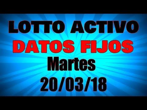 Lotto Activo Datos Martes 20/03/18 Lotto Datos Fijos Para Mañana Datos De Animalitos Fijos Para Hoy