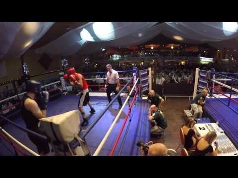 Ultra White Collar Boxing   Durham Ring 2   Curtis Clarke VS Andy Middler