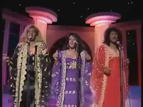 Former Ladies of The Supremes 1992 Jean Terrell, Scherrie Payne, Lynda Laurence
