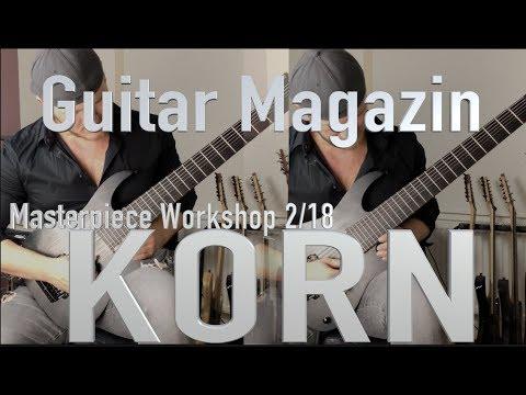 5 great Riffs by KORN - GUITAR magazine Masterpiece Workshop 2/18