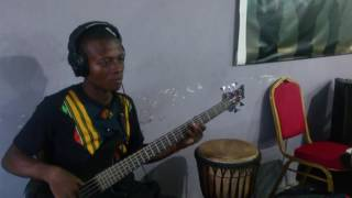 TURNING AROUND BASS COVER by Kwesi Dygbatey