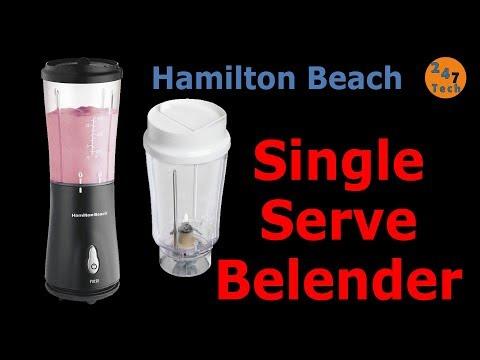 Hamilton Beach Personal Single Serve Blender Test Review
