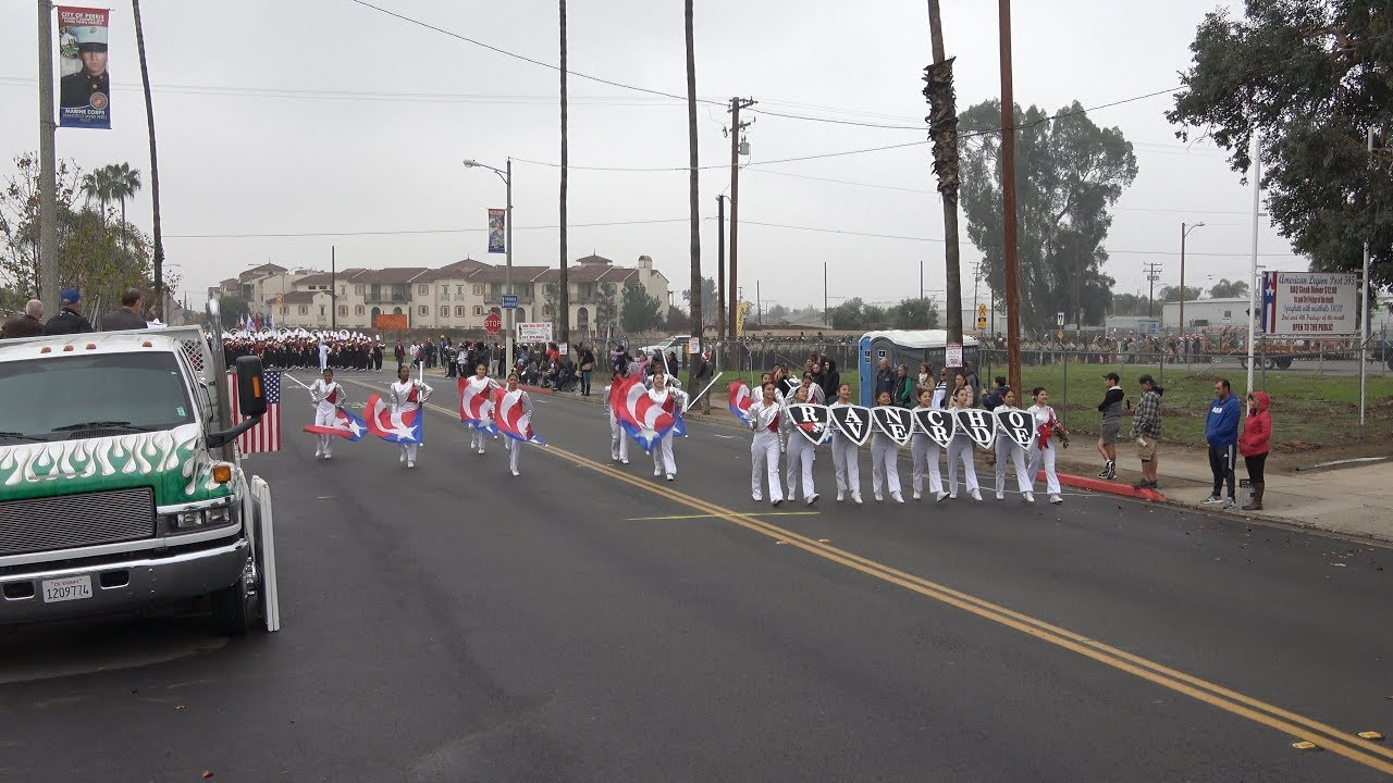 Perris Christmas Parade 2020 Rancho Verde HS   The Gladiator   2019 Perris Valley Christmas