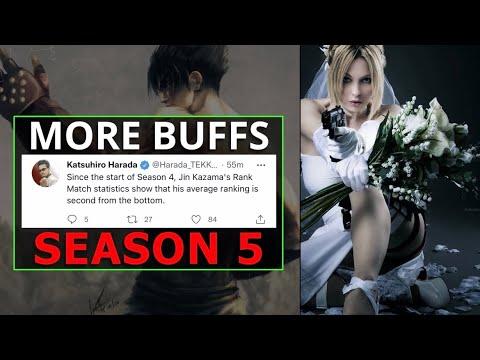 Is Harada Eluding To More Buffs In Tekken 7 Season 5   Nina & Anna In Tekken 8  