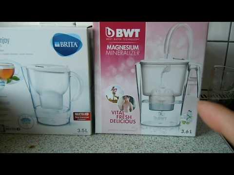 BWT Vs Brita  ---  Tisch Wasserfilter Im Vergleich