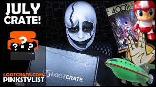 Loot Crate - Unboxing - Futuristic! - July 2016